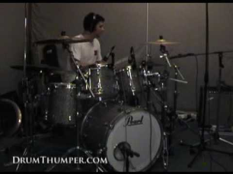 Adrian Griffin Recording Drums for Lo! Track 7