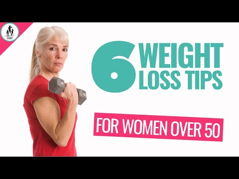 Weight Loss Over 50 Years Old [For Women]