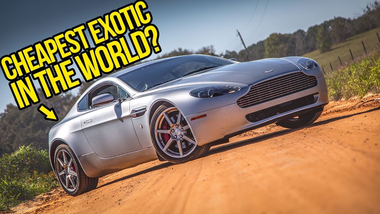 How I Owned An Insane Aston Martin V8 Vantage FOR FREE For Nearly Two Years