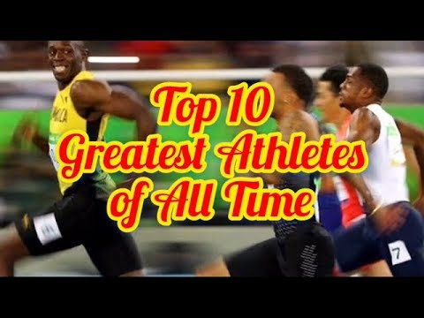Top 10 Greatest Athletes of All Time | Top Top10s
