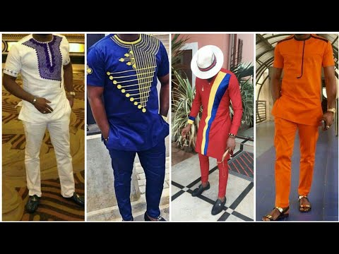 African men's clothing dress || African top men's wear ideas
