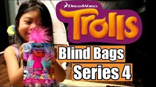 Trolls Surprise Blind Bag Series 4 and Unknown Trolls