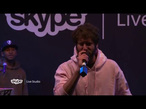 Lil Dicky - Work (Paid For That?) (LIVE 95.5)