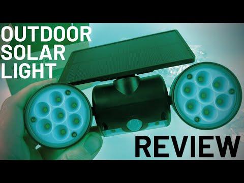 Best Outdoor Solar LED Motion Light – KeShi 30 LED Adjustable Spotlight Review