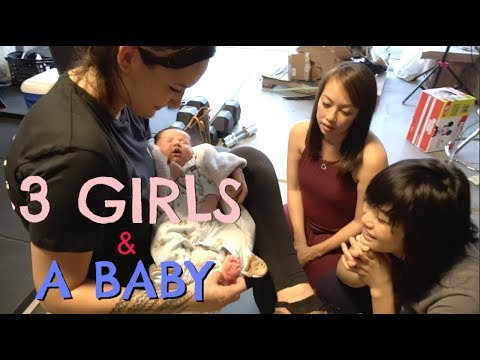 How To Move Breached Baby   Newborn Taika Grows Fast Ft. Geovanna Kwan & Julia Chow