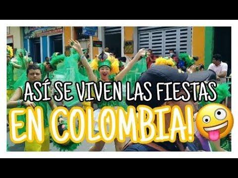 ¡ ASÍ SE VIVEN LAS FIESTAS EN COLOMBIA !💃 Sofi💜