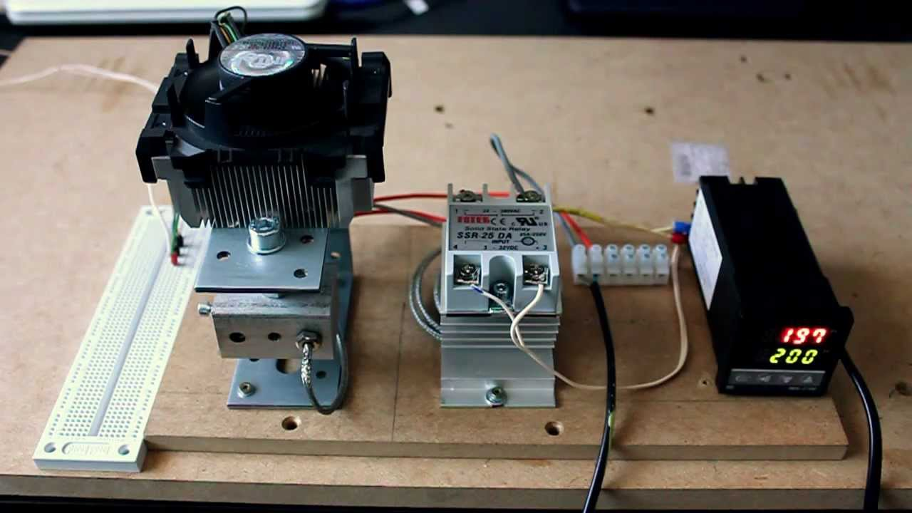maxresdefault extruder temperature control prototype youtube rex c100 wiring diagram at n-0.co