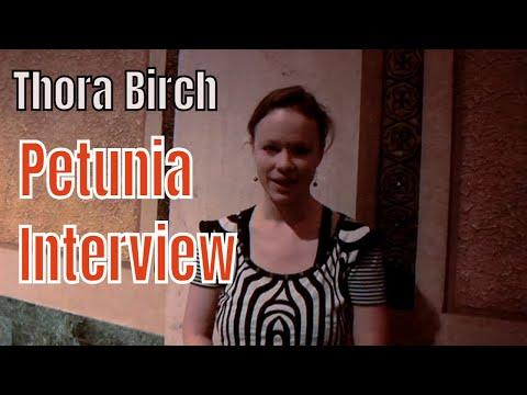 Thora Birch talks about her film Petunia at Sidewalk Film Festival in Birmingham Alabama (video)