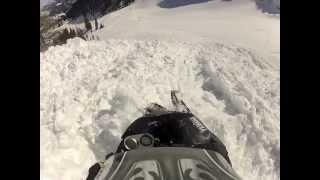 TURBO APEX RIDES THROUGH LARGE AVALANCHE.m4v