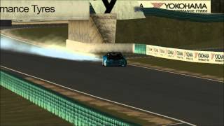 rFactor drifting | day2 | Oran Park Nouth