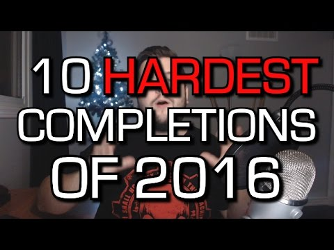 10 Hardest Game Completions Of 2016 On Xbox One