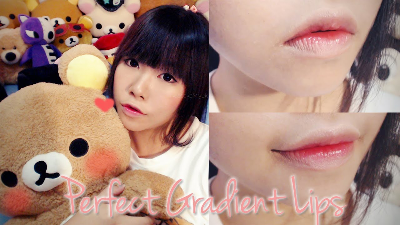 Ulzzang Red Hair Perfect Ulzzang Gradient Lips