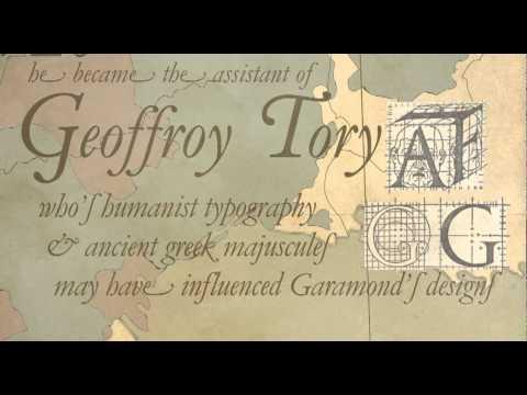Claude Garamond (Typography Bio)