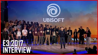 E3 2017: Ubisoft CEO Reflects On New Titles | Interview | Ubisoft [US]