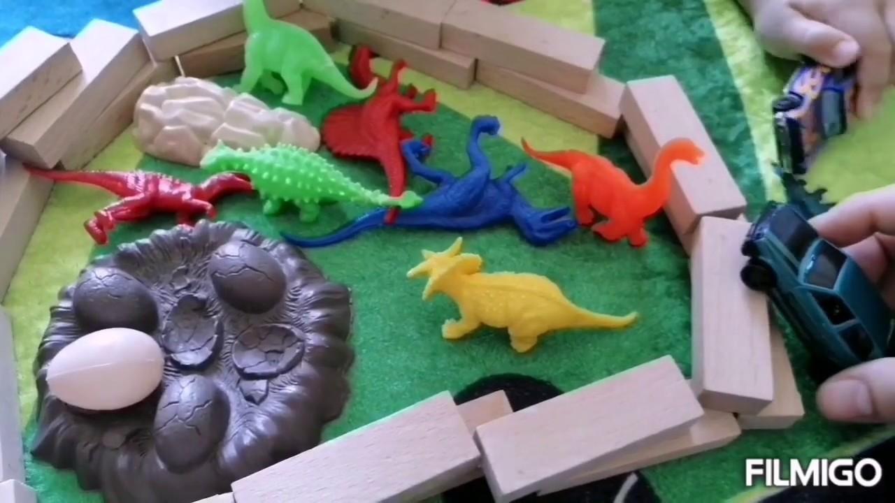Dinazorlar şehre saldırdı, oyuncak hikayesi |Eğlenceli çoçuk videoları izle |Fun kids videos