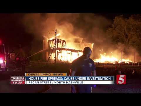 Fire Damages 3 North Nashville Homes