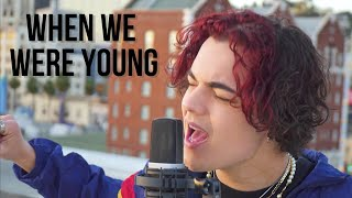 Adele - When We Were Young (Cover by Alexander Stewart)