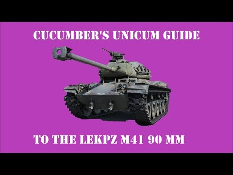 Cucumber's Unicum Guide to the M 41 90 mm