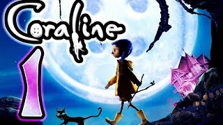 Coraline Walkthrough Part 1 ~ Movie Game (Wii) [1 of 10]