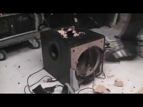 Logitech Z-300 Blowout (Song: Lil Jon - Bass Terror)
