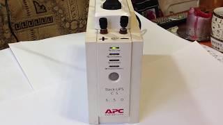 Бесперебойник модернизированный ИБП APC - 650(Как можно лехко и просто модернизировать бесперебойное устройство. Поддержите мой проэкт,..., 2015-03-06T11:23:54.000Z)
