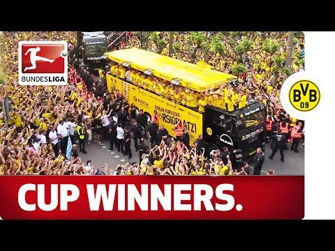 Borussia Dortmund's Cup Celebrations - Aubameyang, Reus, Dembele & Co.