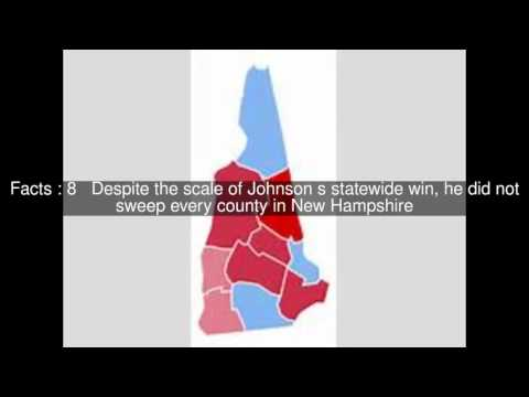 United States presidential election in New Hampshire, 1964 Top  #15 Facts