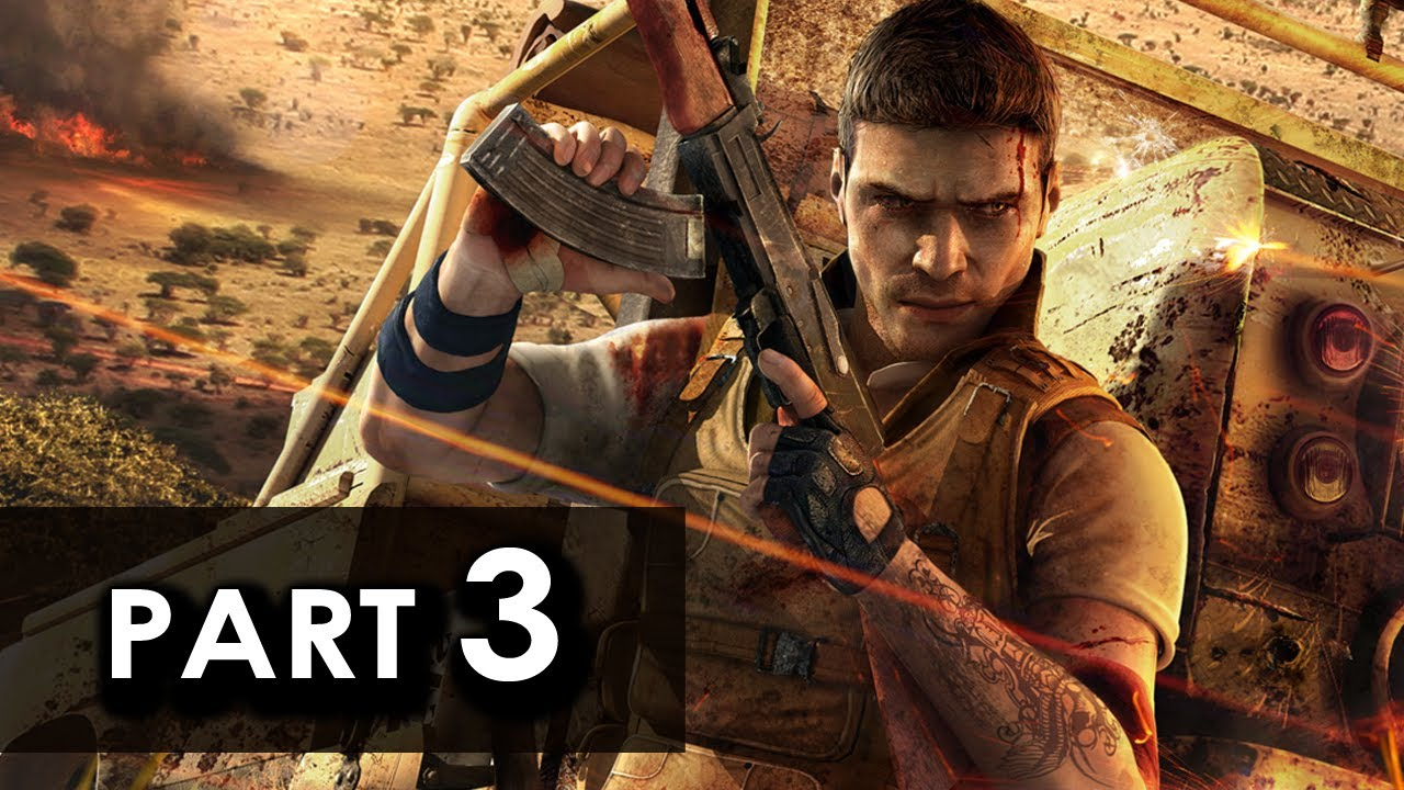 Far Cry 2 Walkthrough Part 3 Let S Play Gameplay Commentary