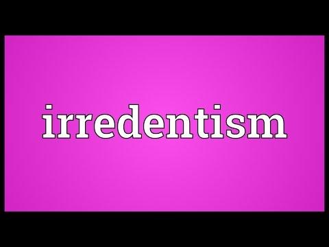 Header of irredentism