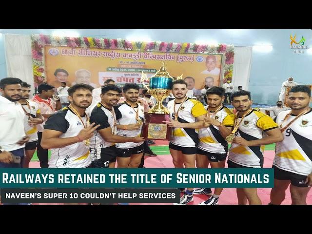 Day 4 Summary- 68th Senior Nationals   Railways   Services   Pawan   Parvesh   Naveen   Rajasthan