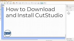 How to Download and Install CutStudio