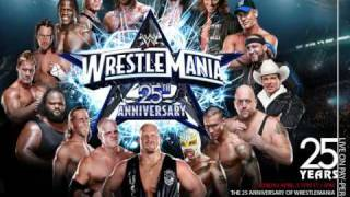 "WWE WrestleMania 25 Official Theme - - ""Shoot To Thrill (Live)"" by AC/DC"
