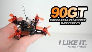 KINGKONG 90GT - 90mm Brushless Micro Quad, Review & Flight