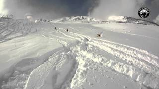 Gulmarg 2015 - 60cm of Fresh from the Chairlift with the Sun Out