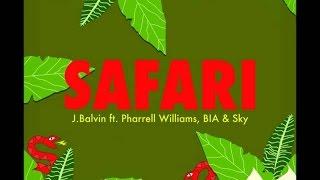 J Balvin - Safari  LYRICS