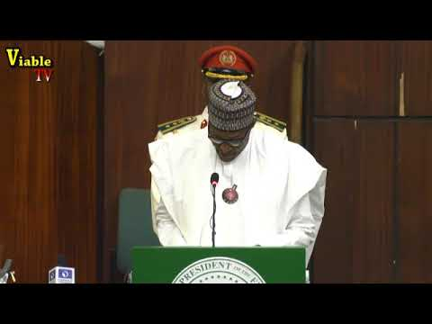 FULL VIDEO : Text Of What Buhari Said At 2019 Budget Presentation Before NASS Members