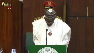 FULL VIDEO : Text Of What Buhari Said At 2019 Budget Presentation Before NASS Members