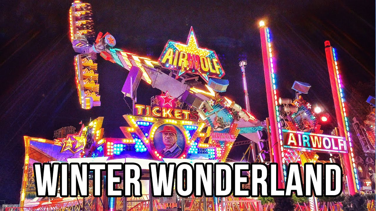 how to get to winter wonderland hyde park by train