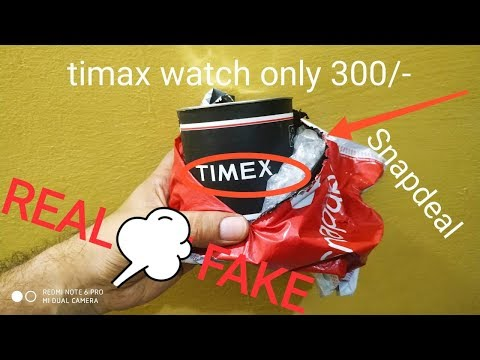 TIMAX Watch.  Only In 300 ..check Real Or Fake.
