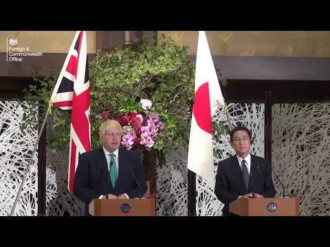 Britain and Japan stand together against North Korea missile tests