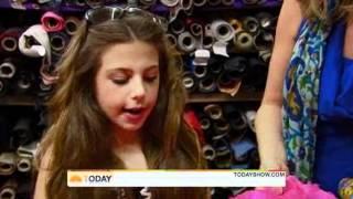 Cecilia Cassini: Ten-Year-Old Designer Already Dressing Stars
