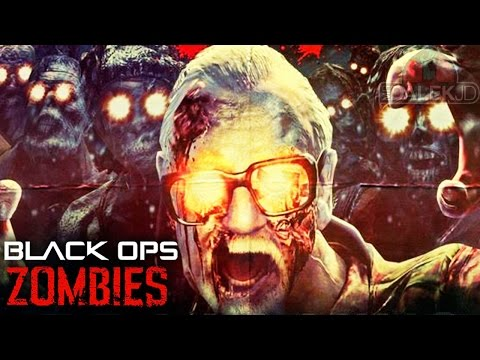 "PLAYING AS GEORGE ROMERO! - INSANE Black Ops Zombies ""TURNED"" MOD on CALL OF THE DEAD #1!"