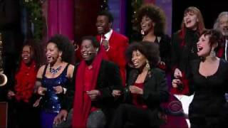Darlene Love on The Letterman Show: Dec 23rd 2009