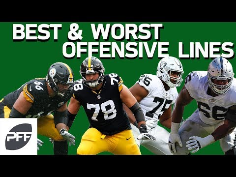 Best & Worst Offensive Lines in 2018 | Pro Football Focus