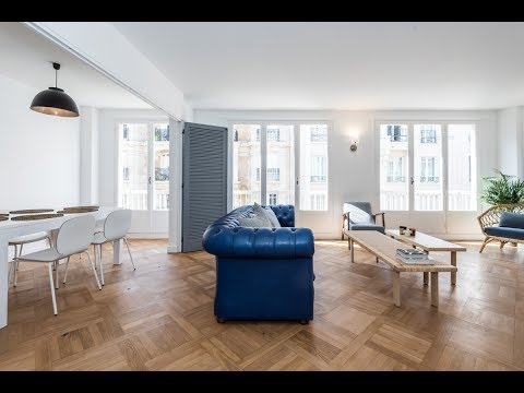 (Ref: 17081) 3-Bedroom furnished apartment for rent on rue Chuquet (Paris 17th)