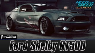 Need For Speed No Limits: Ford Shelby GT500 (Customization + MAXXED OUT)