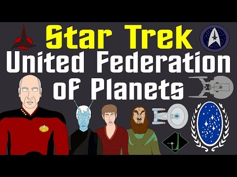 Star Trek: United Federation of Planets - Complete History