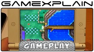 Zelda: A Link Between Worlds - Exploring Hyrule & Lorule Overworld Gameplay (w/ Direct Audio)