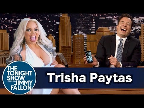 Trisha Paytas on The Tonight Show with Jimmy Fallon | Wheel of Musical Impressions