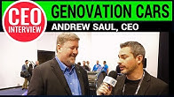CEO Interview: Andrew Saul of Genovation Cars